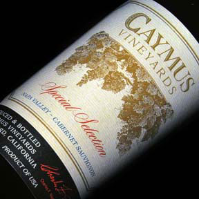 Caymus Vineyards : Special Selection Cabernet Sauvignon 2013