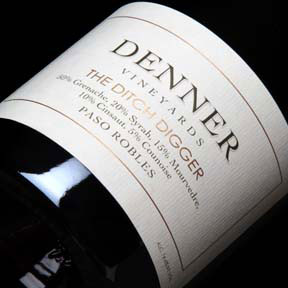 Denner Vineyards : The Ditch Digger 2012 - 0