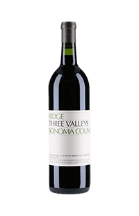Ridge Vineyards : Three Valley 2016