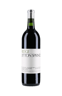 Ridge Vineyards : Zinfandel Lytton Springs 2015