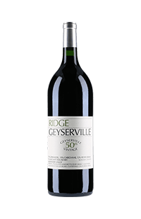 Ridge Vineyards : Geyserville 2015