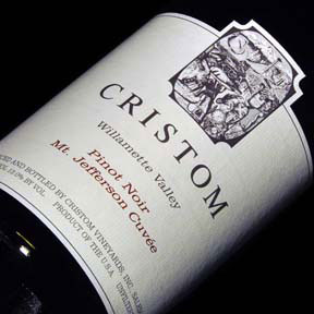 Cristom Vineyards : Mt. Jefferson Cuvee Pinot Noir 2015 - 0