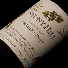 Stony Hill Vineyard : Napa Valley Chardonnay 2010 - 0