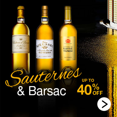 Sauternes and Barsac, up to 40% off