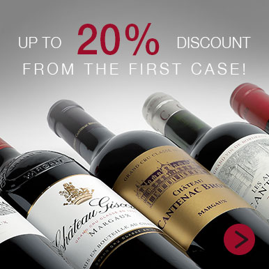 Up to 20% off a curated selection of Bordeaux