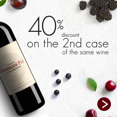 40% off the second case