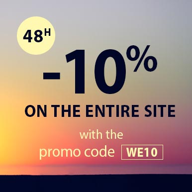 -10% on the entire site for 48h only with the promo code WE10