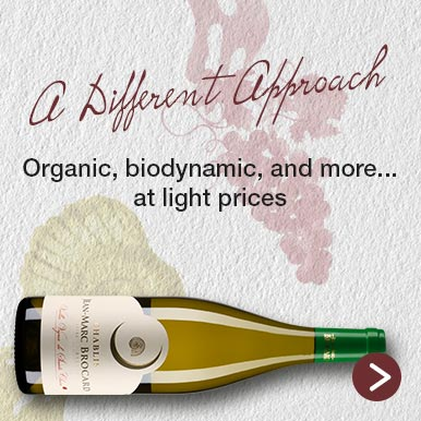 Organic, biodynamic and more...at light prices