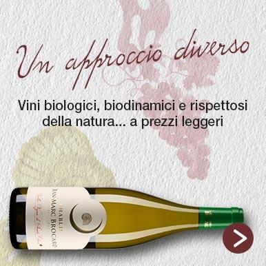 Vini biologici, biodinamici e rispettosi della natura...a prezzi leggeri