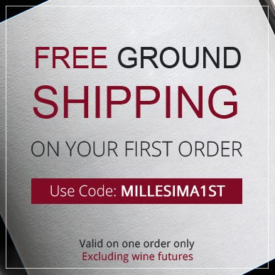 Free Ground Shipping on the first order. Use Code: MILLESIMA1ST