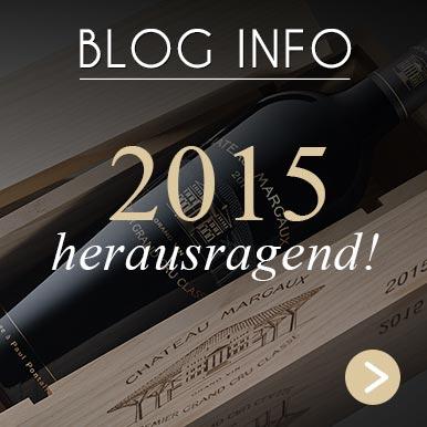 Château Margaux 2015 - limitierte Edition Hommage à Paul Pontallier