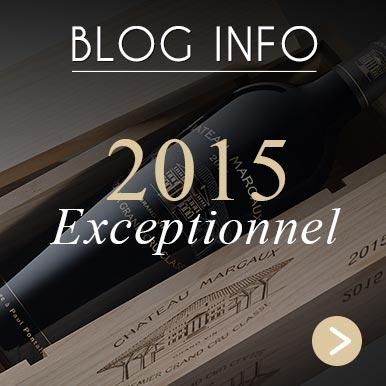 Château Margaux 2015 - Hommage à Paul Pontallier