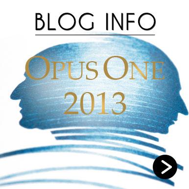 Blog Info Opus One 2013