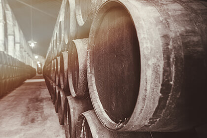 Sherry barrels