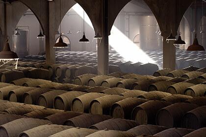 Sherry production; Valdespino sherry