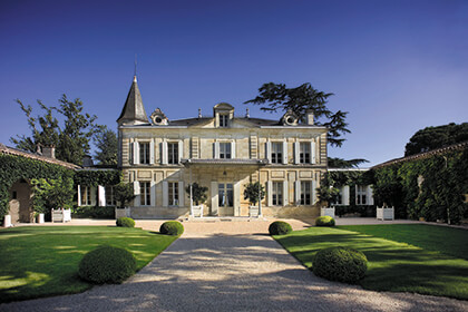 Chateau Cheval Blanc in Saint-Emilion wine