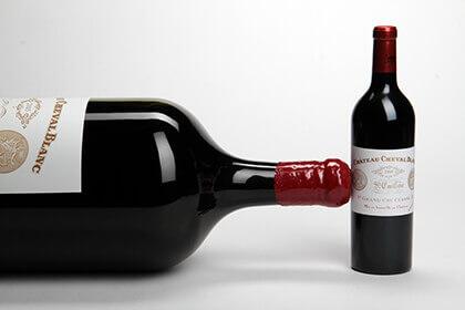 Bouteille format Nabuchodonosor – Château Cheval Blanc