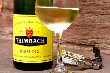 French wine by Maison Trimbach in Alsace