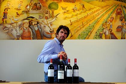 Andrea Mantengoli of La Serena wine