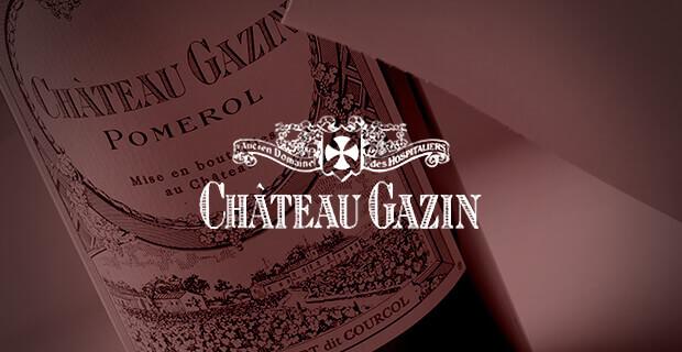 Chateau Gazin wine