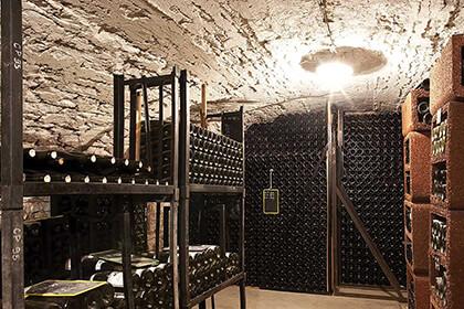 Domaine Leflaive wine cellar