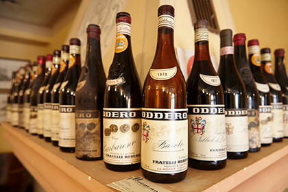 The wines of Oddero
