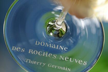 Domaine des Roches Neuves - Thierry Germain - verre