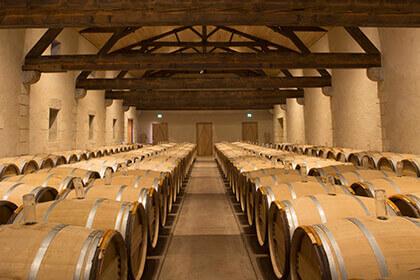 Château d'Yquem, Château d'Yquem barrels, Château d'Yquem barrel room
