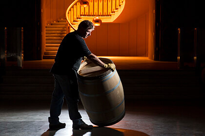 Chateau d'Yquem barrel, Chateau d'Yquem winemaking