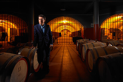 Penfolds Chief Winemaker Peter Gago
