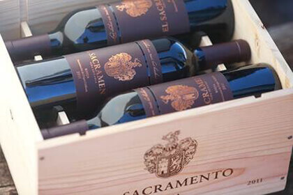 El Sacramento, bottiglie, Rioja