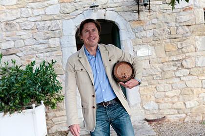 Eric de Saint Victor château de Pibarnon Bandol Provence
