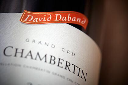 David Duband wine, Chambertin Grand Cru
