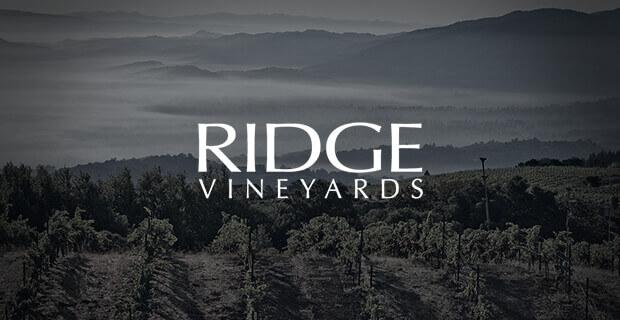 Ridge Vineyards; Ridge wines