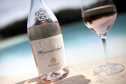 Whispering Angel Provence wine
