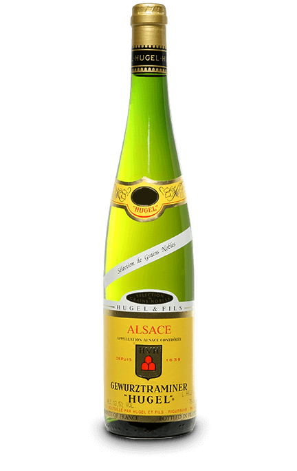 MAISON HUGEL : GEWURZTRAMINER SÉLECTION DE GRAINS NOBLES 1989 Millesima