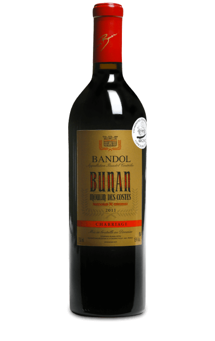 Domaines Bunan : Moulin des Costes Charriage 2011 Provence Millesima