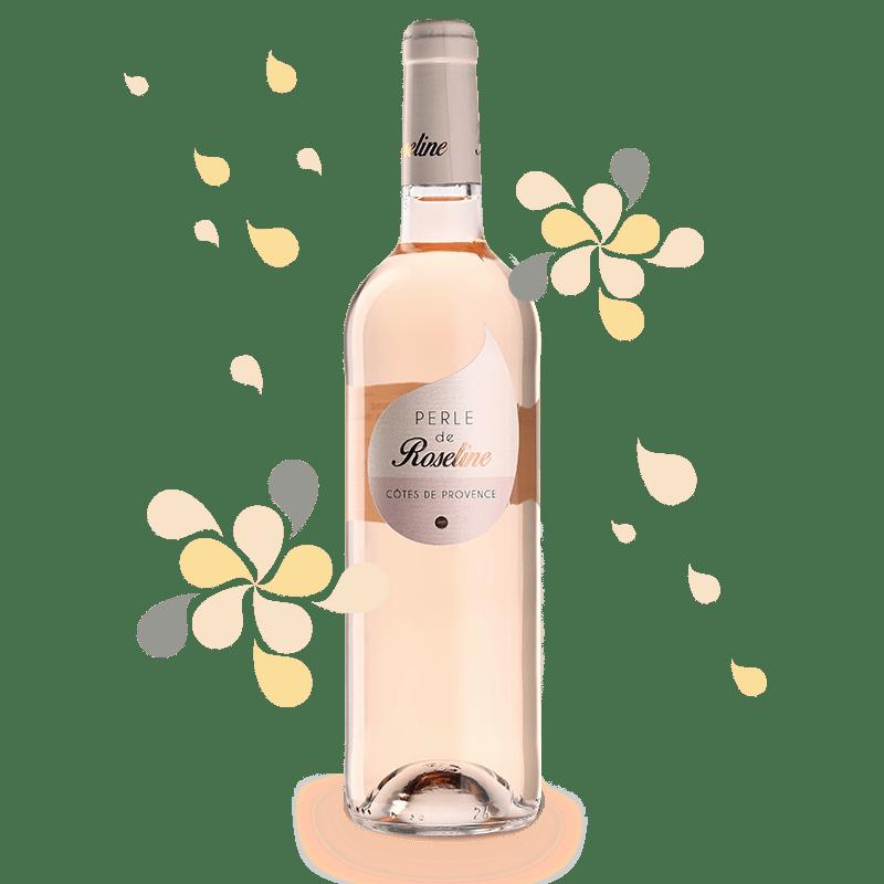 CHÂTEAU SAINTE ROSELINE PERLE DE ROSELINE 2018, Côtes de Provence Rose Millesima