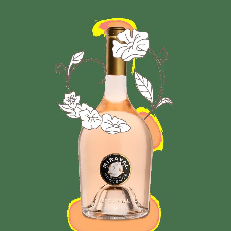 MIRAVAL 2018, Côtes de Provence Rose Millesima