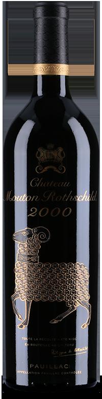 Bouteille Château Mouton Rothschild 2000