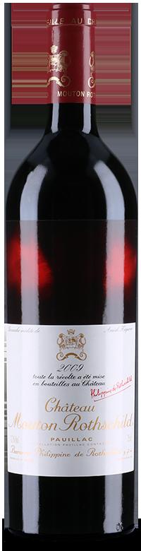 Etiquette Château Mouton Rothschild 2009