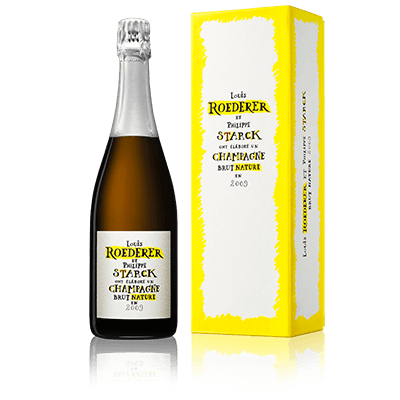LOUIS ROEDERER BRUT NATURE EDITION LIMITÉE BY PHILIPPE STARCK 2009 Millesima