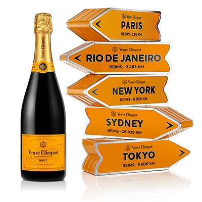VEUVE CLICQUOT ARROW BRUT CARTE JAUNE ARROW Millesima