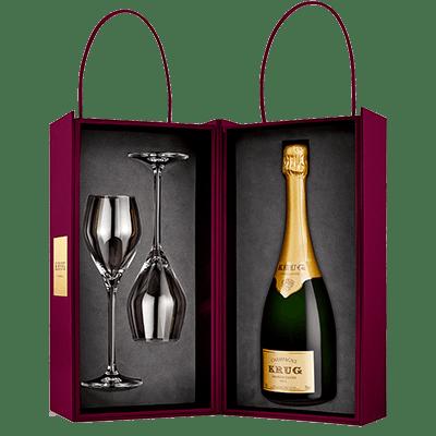 Champagne Krug Grande Cuvée Coffret Joseph 163 ème édition