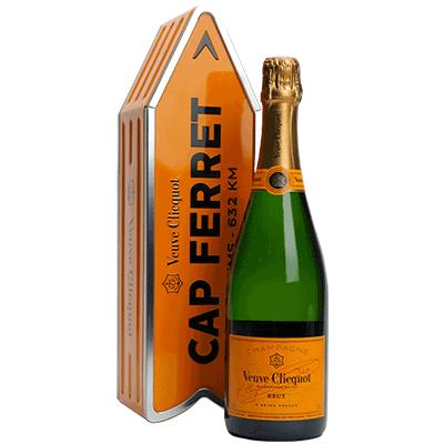 Veuve Clicquot Brut Carte Jaune Coffret Cap Ferret
