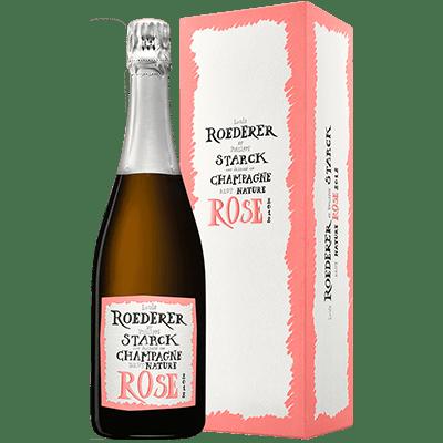 Louis Roederer Brut Nature Rosé 2dition Limitée By Philippe Starck 2012