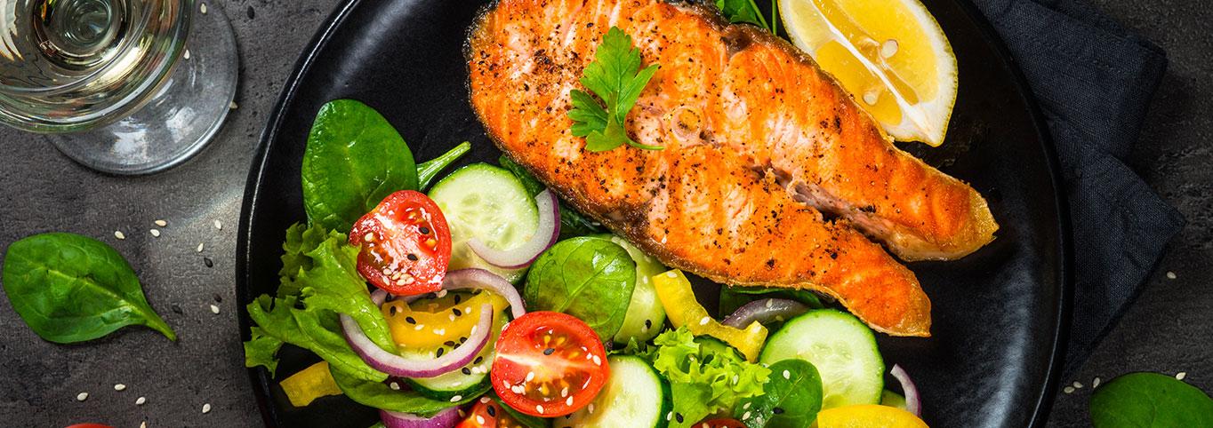 saumon-vin
