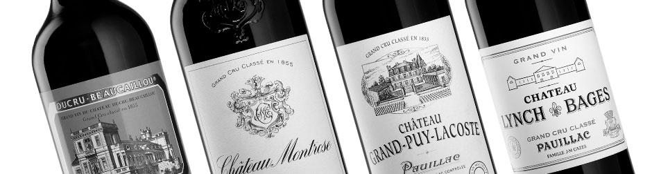Bouteilles Bordeaux
