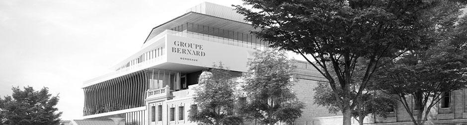 Rénovation du bâtiment Millésima à Bordeaux