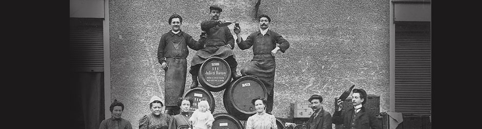 L'histoire des chais - Photo des années 1920